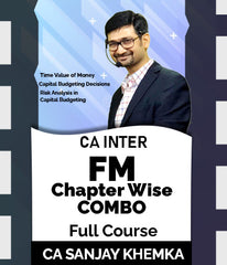 CA Inter FM Chapter Wise Combo 4 By CA Sanjay Khemka - Zeroinfy