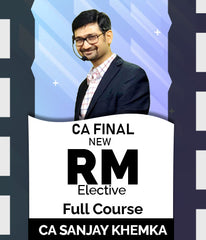 CA Final Elective Risk Management Full Course By Sanjay Khemka - Zeroinfy
