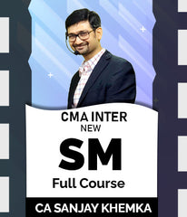 CMA Inter Strategic Management Full Course Video Lectures By Sanjay Khemka - Zeroinfy