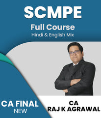 CA Final SCMPE (Costing) Full Course Videos Raj K Agrawal (New) - Zeroinfy