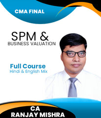 CMA Final SPM and Business Valuation Latest Batch Full Course By CA Ranjay Mishra (New) - Zeroinfy