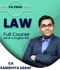 CA Final Law Full Course By Sanidhya Saraf (Old/New) - Zeroinfy