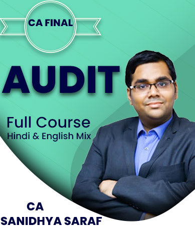 CA Final Audit Full Course By Sanidhya Saraf (New/Old) - Zeroinfy