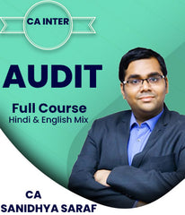 CA Inter/IPCC Audit Full Course By Sanidhya Saraf - Zeroinfy