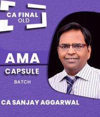 CA Final Costing and QT (AMA) Capsule by CA Sanjay Aggarwal Old Syllabus - Zeroinfy