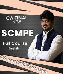 CA Final SCMPE (Costing) Full Course In English By Sankalp Kanstiya (New) - Zeroinfy