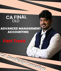 CA Final Advanced Management Accounting Fast Track by Sankalp Kanstiya (Old) - Zeroinfy