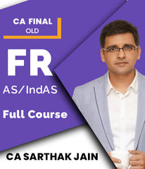 CA Final FR- IndAS and AS Only Full Course By CA Sarthak Jain (Old) - Zeroinfy