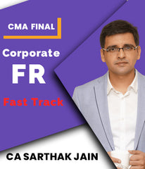 CMA Final Corporate Financial Reporting Fast Track Video Lectures By CA Sarthak Jain - Zeroinfy