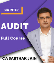 CA Inter Auditing Full Course by CA Sarthak Jain - Zeroinfy