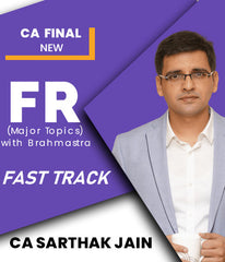 CA Final FR Fast Track (Major Topics) with Brahmastra by Sarthak Jain (New) - Zeroinfy