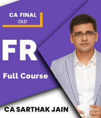 CA Final Financial Reporting Full Course By CA Sarthak Jain (Old) - Zeroinfy