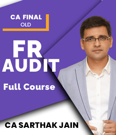 CA Final Financial Reporting and Audit Full Course Combo By Sarthak Jain (Old) - Zeroinfy