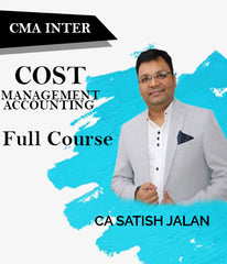 CMA Inter (New) Cost And Management Accounting Full Course Video Lectures By Satish Jalan