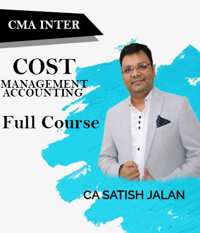 CMA Inter (New) Cost And Management Accounting Full Course Video Lectures By Satish Jalan - Zeroinfy
