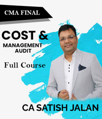 CMA Final Cost and Management Audit Full Course Video Lectures By Satish Jalan - Zeroinfy