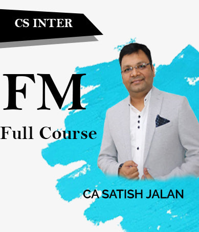 CS Executive Financial Management (FM) Full Course Videos By Satish Jalan - Zeroinfy