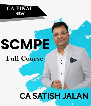 CA Final SCMPE Full Course by Satish Jalan (Cost New) - Zeroinfy