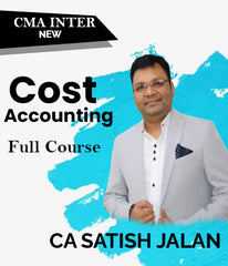 CMA Inter (New) Cost Accounting Full Course Video Lectures By Satish Jalan - Zeroinfy