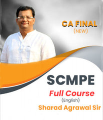 CA Final SCMPE Full Course by Sharad Agrawal In English (New) - Zeroinfy