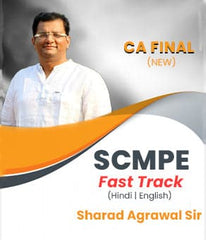 CA Final (New) Strategic Cost Management And Performance Evaluation Fast Track By Sharad Agrawal - Zeroinfy
