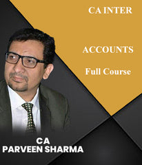 CA Inter Accounts Full Course Live Batch By CA Parveen Sharma - Zeroinfy