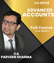 CA Inter Advanced Accounts Full Course Live Batch By CA Parveen Sharma - Zeroinfy