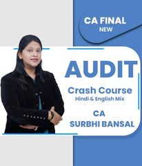 CA Final Audit Crash Course By Surbhi Bansal (Old/New) - Zeroinfy