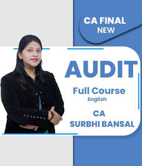 CA Final Audit Full Course In English By Surbhi Bansal (New) - Zeroinfy
