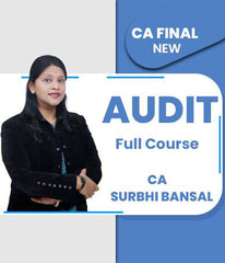 CA Final Audit Full Course By Surbhi Bansal (Old/New) - Zeroinfy