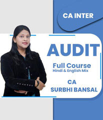 CA Inter Audit Full Course By Surbhi Bansal - Zeroinfy