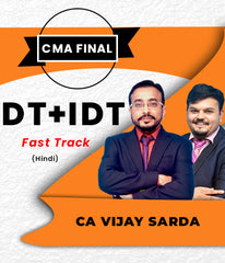 CMA Final Super 35 DT IDT Combo Full Course (Hindi) by Vishal Bhattad and Vijay Sarda - Zeroinfy