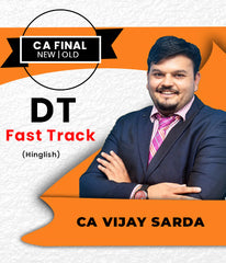CA Final Direct Tax Super 35 Fast Track By Vijay Sarda (New/Old) - Zeroinfy