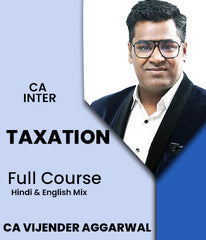 CA Inter Taxation Full Course by Vijender Aggarwal - Zeroinfy