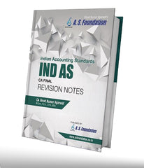 CA Final Old/New IND AS REVISION BOOK by CA Vinod Kumar Agarwal