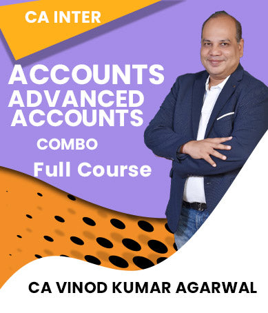 CA INTER Accounting and Advanced Accounting Combo Full Course Videos By Vinod Kr. Agarwal (New) - Zeroinfy