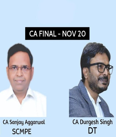 CA Final Costing and Direct Tax Full Course Combo By Sanjay Aggarwal and Durgesh Singh (New) by Zeroinfy