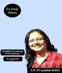 CA Final SCMPE(Costing) Full Course in English By CA Priyadarisini (New) by Zeroinfy