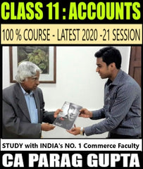 CBSE Class 11 Accounts Full Course By CA Parag Gupta - Zeroinfy