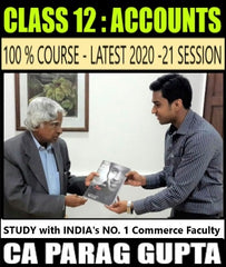 CBSE Class 12 Accounts Full Course By CA Parag Gupta - Zeroinfy