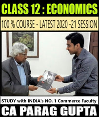 CBSE Class 12 Economics Full Course By CA Parag Gupta - Zeroinfy