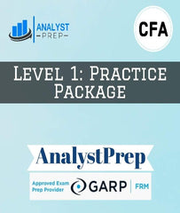 CFA Level 1 Practice Package by AnalystPrep - Zeroinfy