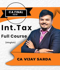 CA Final Elective International Tax Full Course By Vijay Sarda - Zeroinfy