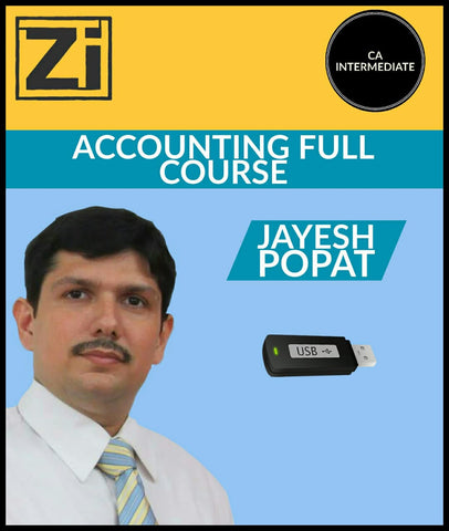 CA Intermediate Accounting Full Course By Jayesh Popat - Zeroinfy