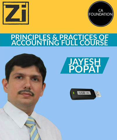 CA Foundation New Principles And Practices Of Accounting Full Course By Jayesh Popat - zeroinfy