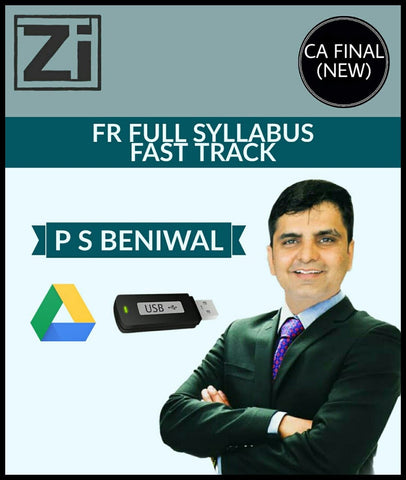 CA Final (New) Financial Reporting Full Course In Fast Track Mode By P S Beniwal - zeroinfy