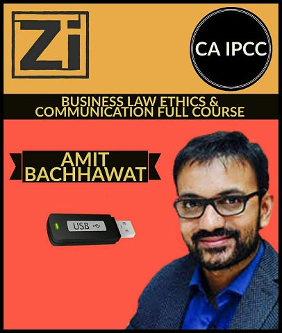 CA IPCC Business Law Ethics And Communication Full Course By Amit Bachhawat - Zeroinfy