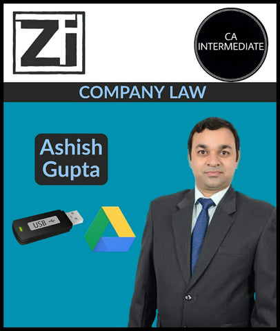CA Inter Company Law Full Course By Ashish Gupta (New) - Zeroinfy