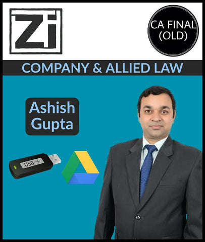 CA Final (Old) Company And Allied Law By Ashish Gupta - Zeroinfy