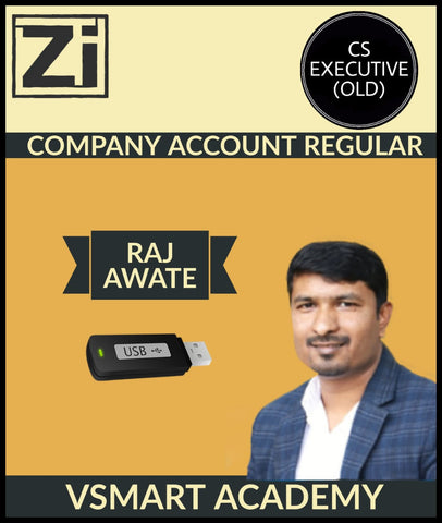 CS Executive Old Company Account Regular Course By Raj Awate